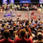 40,000 see 20,000 students participate in FIRST Robotics Competition
