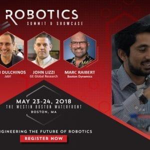 Meet cutting-edge robots at the Robotics Summit