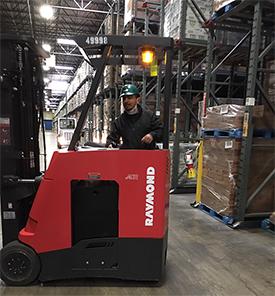 Forklift safety program earns co-op free tacos