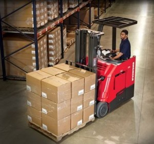 4250 stand up counterbalanced forklift