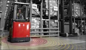 RTLS for warehouse optimization