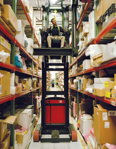 Material handling industry solutions