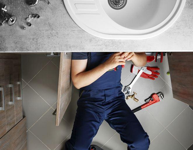 Emergency service on sink