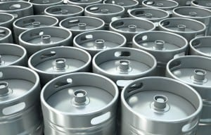 Information on Maximizing low-volume, high-SKU Craft Beer Kegs Warehouse Cooler Storage solutions from Abel Womack, NE Raymond Forklifts Dealer.