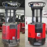 Before-After Raymond Renewed forklift