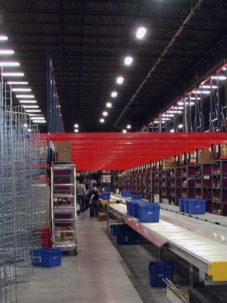Distribution-center-conveyors