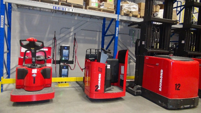 Charging electric trucks