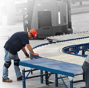 Conveyor service and installation