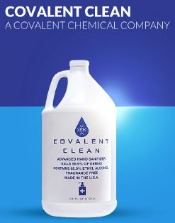 Covalent Clean hand sanitizer
