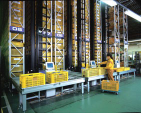 Daifuku Mini Load Automated Storage and Retrieval System
