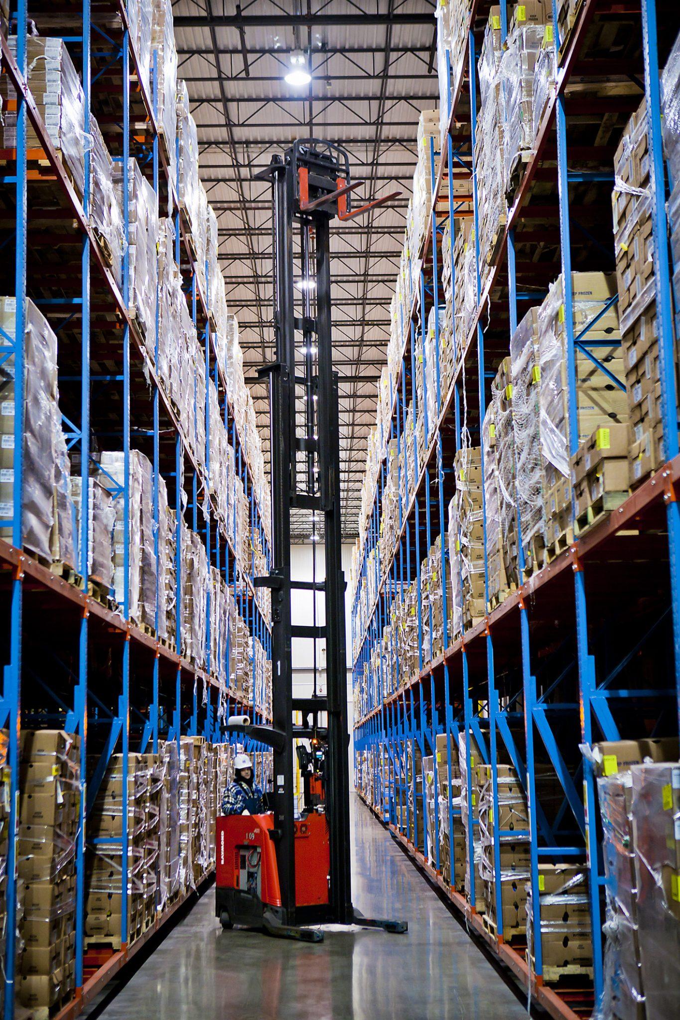 Deep Reach in Cold Storage