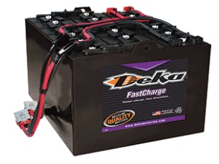 Deka-forklift-battery