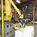 Fanuc-robot-wood-pellet-palletizing