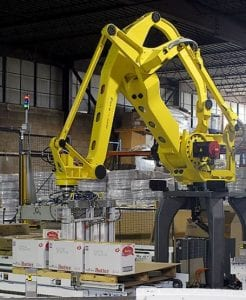 Fanuc-robot-with-conveyor-system