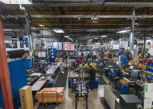 Golf-club-manufacturing-plant