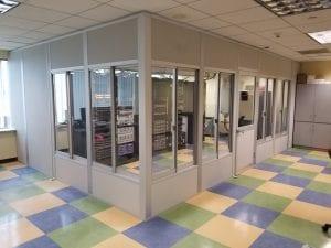 Modular offices - Server room