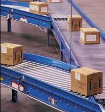 Hytrol roller conveyor
