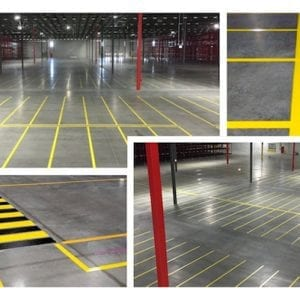 Why You Should Mark Your Warehouse Floors
