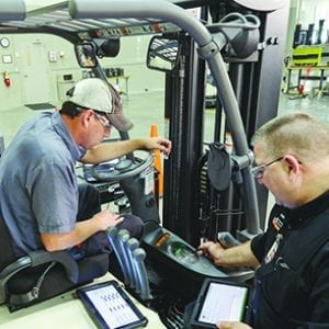 Lift Trucks: A new technician vision