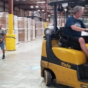 Will there be bidding wars for warehouse labor?