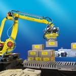 FANUC Robot 410iB is Fanuc's latest generation palletizing industrial robot.