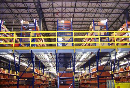 Warehouse-mezzanine