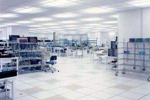 Portafab electronics industry cleanroom