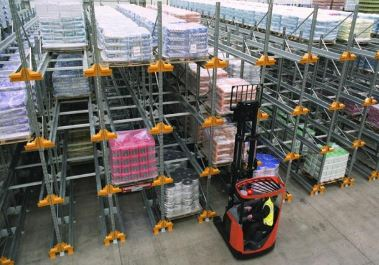 Radioshuttle and forklift
