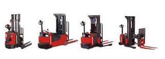 Raymond walkie pallet stackers