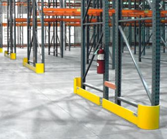 Row end protectors courtesy of Wildeck