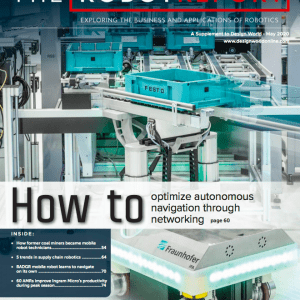 The Robot Report May 2020 issue: autonomous mobile robots