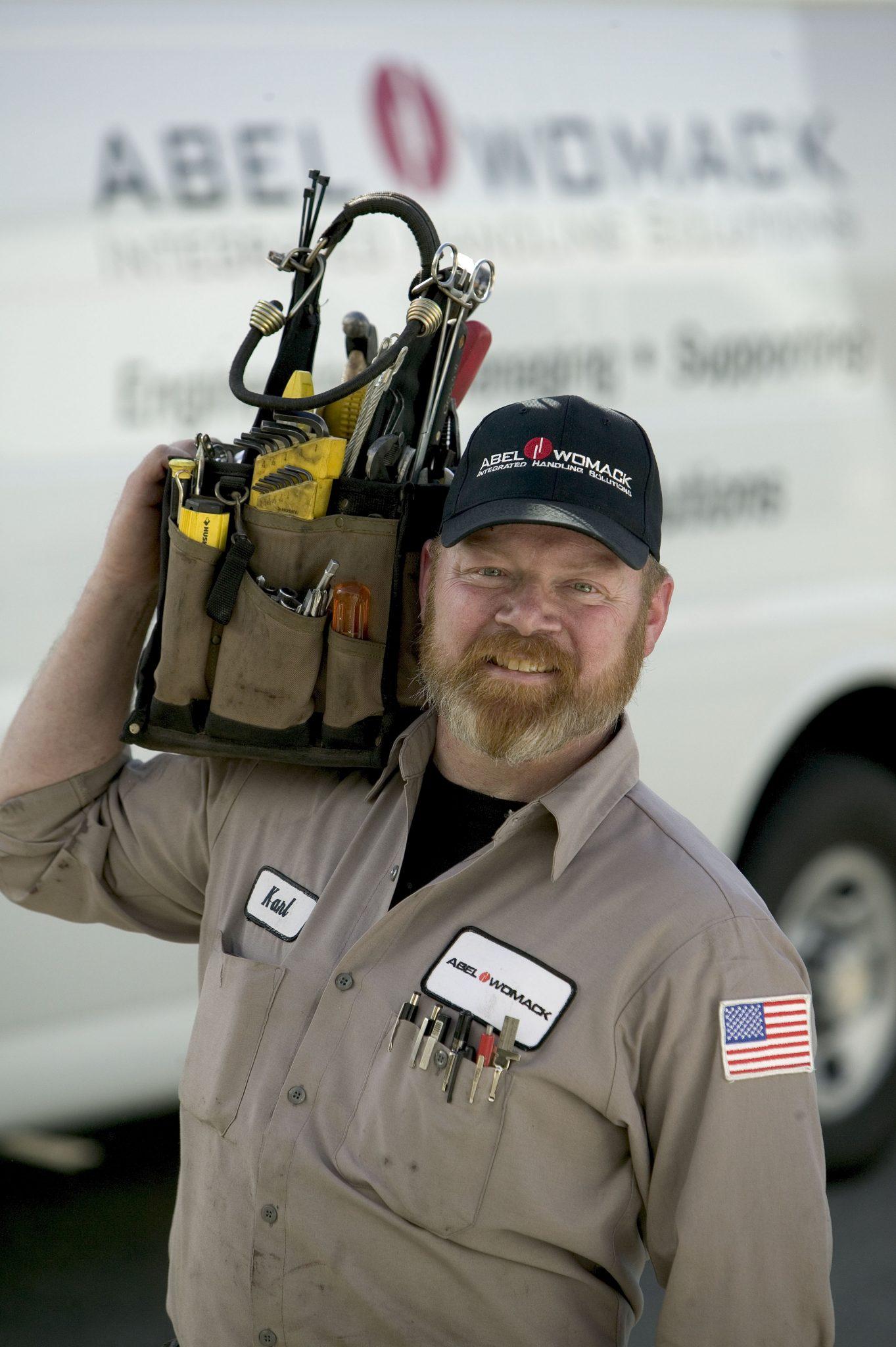 Emergency service technician