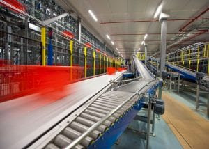 Warehouse automation-conveyors