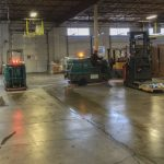 Warehouse industrial flooring