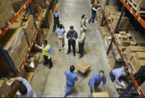 Managing warehouse inventory with MHE