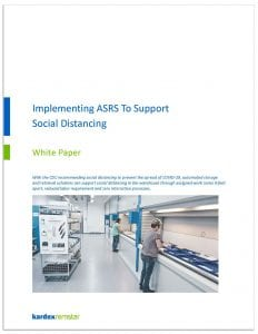 Implementing ASRS for social-distancing-white paper