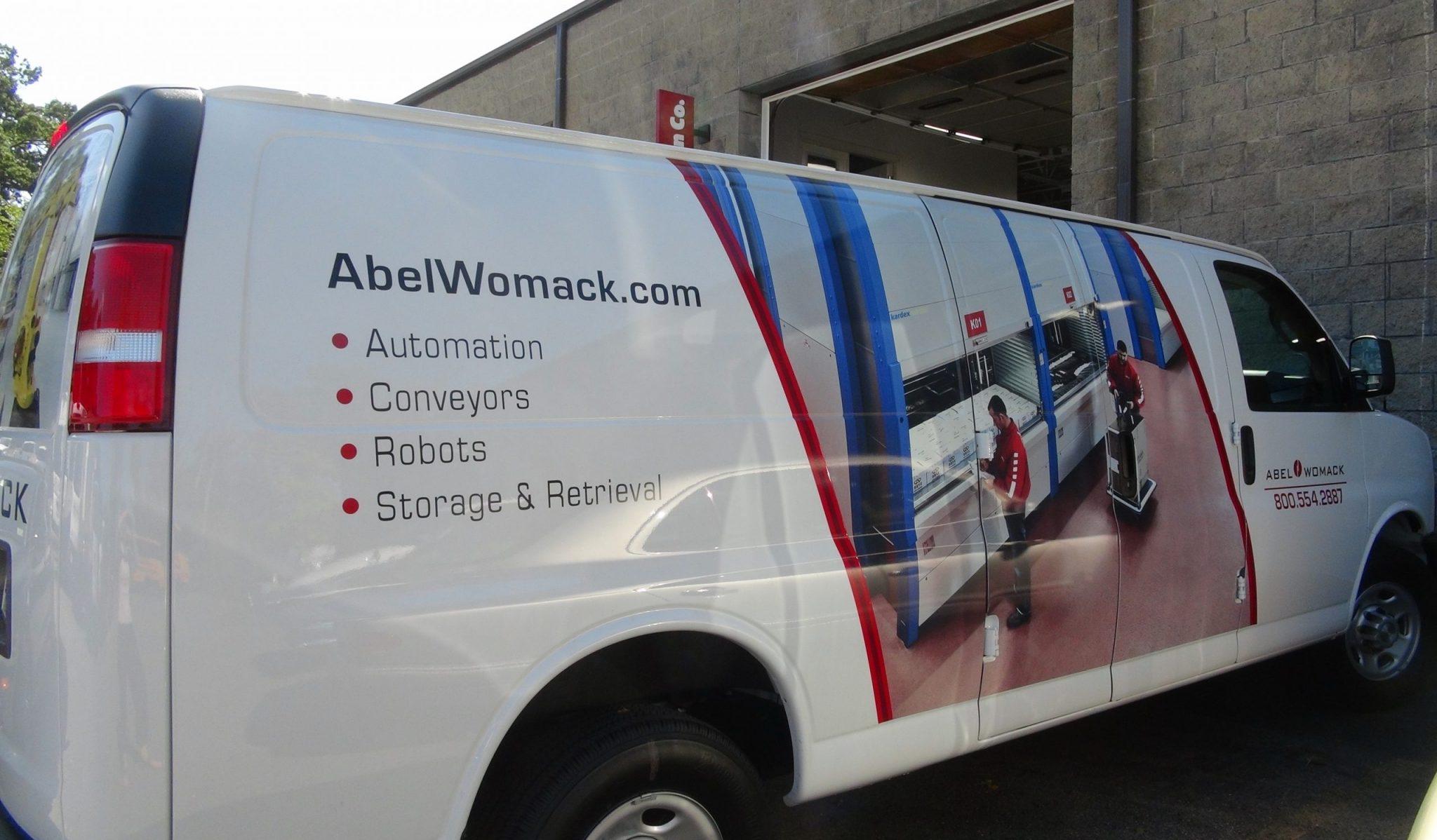 Abel Womack service van