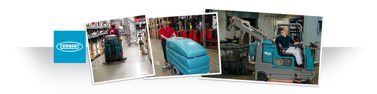 Rent Tennant Floor Scrubbers and Sweepers