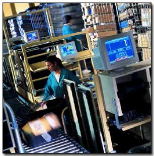 Teradyne Warehouse Distribution System