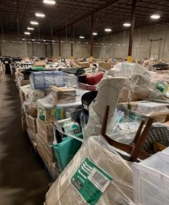 e-commerce warehouse returns